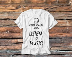 T-shirt Keep Calm Listen