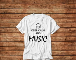 T-shirt Keep Music