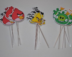 Toppers para doces Angry Birds
