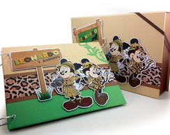 Álbum Mickey Safari