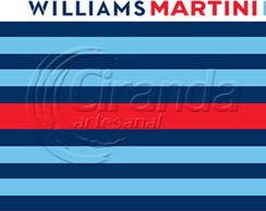 Placa Decorativa Williams Martini
