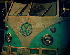 Placa Decorativa Kombi
