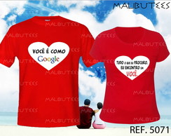camiseta namorados love kit com 2