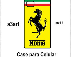 Case Capa Para IPHONE 4/4S e 5S Ferrari