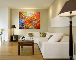 Painel Abstrato 100x120 Cod 859