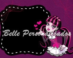 Arte Digital Convite Monster High
