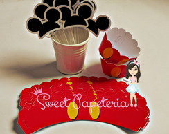 Mini Wrapper para Cupcake Mickey