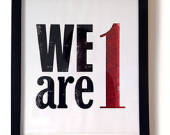 We are 1