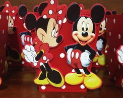 Cachepot Mickey e Minnie