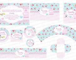 Kit Digital Shabby Chic - 2