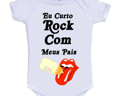 Body Divertido Eu Curto Rock!
