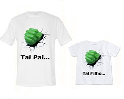 KIT CAMISETAS HULK