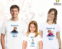 Kit 3 camisetas- Frozen 03