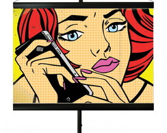 * MINI BANNER - POP ART - ALÔ...ALÔ !!!!