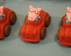 Carro de chocolate - Peppa pig