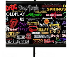 * MINI BANNER - BAND OF ROCK