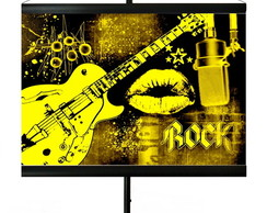* MINI BANNER - ROCK IS YELLOW