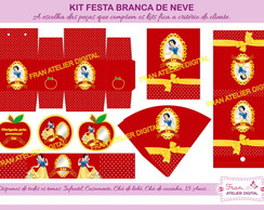 Kit Digital Festa Branca de Neve