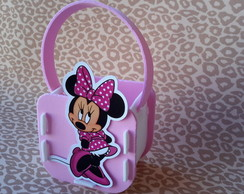 Cestinhas surpresa minnie rosa