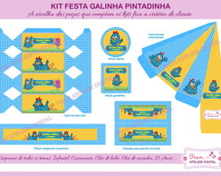 Kit Digital Festa Galinha Pintadinha 2