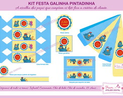 Kit Digital Festa Galinha Pintadinha 3