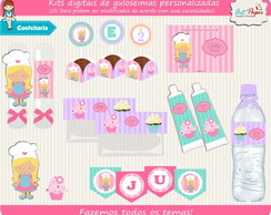 Kit guloseimas digital Confeitaria