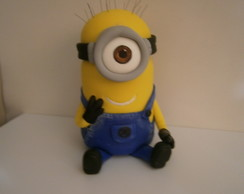 Vidro decorado Minion