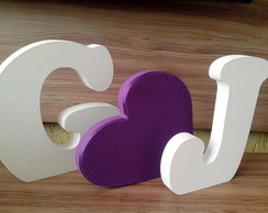 ***Letras Mdf Decoradas***