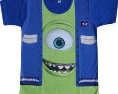 Camiseta infantil Mike Monstros SA