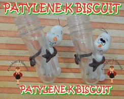 TUBETE DECORADO OLAF FROZEN BISCUIT 8