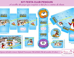 Kit Digital Festa Club do Pinguim
