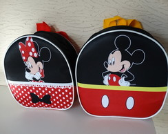 Mochila Minnie e Mickey 3