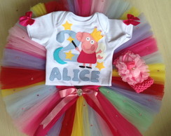 Conjunto Peppa COLORIDA