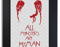 * QUADRO POSTER - HORROR STORY - MONSTER