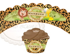 Wrapper para cupcake - Safari