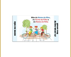 Mommy Card - Passeio de Bicicleta