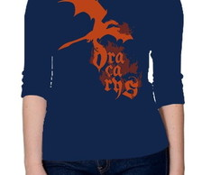 CAMISETA FEMININA 3/4-GAME OF THRONES-