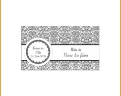 Mommy Card - Arabesco Elegante