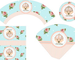 KIT FESTA DIGITAL BEBÊ SHABBY CHIC