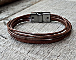 Pulseira Nylon Magnetic Brown