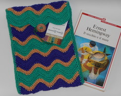 Case para tablet 8'' de crochet