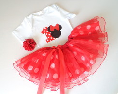 Conjunto Minnie - 1 ano
