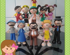 Personagens Turma do Chaves * valor unid