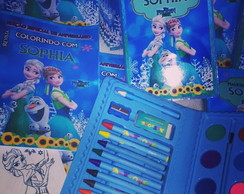 Kit Pintura Frozen Fever