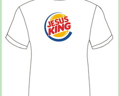 Camiseta Jesus King