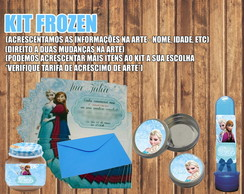 Kit Arte Digital - Frozen