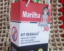 Kit Ressaca De Repente 30 + brindes