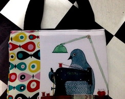 Bolsa fashion birds