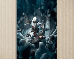 Quadro Assassin's Creed - Games 30x44 cm