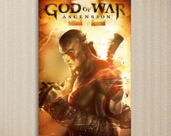 Quadro God Of War - Games 30x44 cm